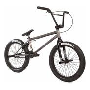 Bicicleta Bmx Fit Str ¡cromo! Street Pro Matte Gris Raw