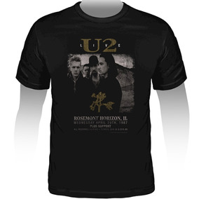 Camiseta U2 The Joshua Tree Live Oficial