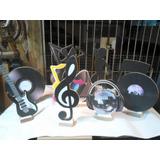 Kit Tema Musica- 10 Displays De Mesa