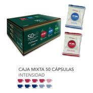 Caja 50 Cápsulas Café Nespresso Pera Crema Bar Y Dolce Aroma