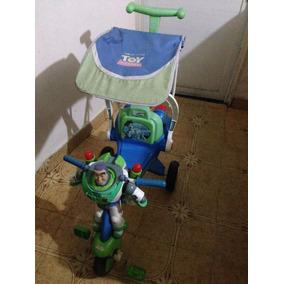 Triciclo Para Bebe Niño Usado Buzzlightyear Color Negro