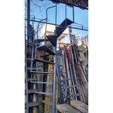 Escada Caracol De Ferro - 50cm De Largura - 3m De Altura -