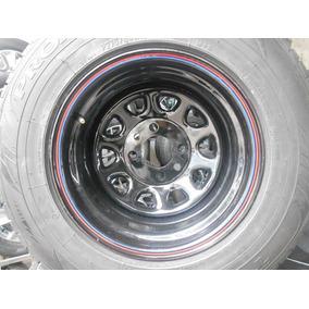 02 Rodas Daytona Aro 15x10 4x130 Usadas Para Triciclo
