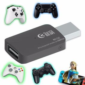 Adaptador Nintendo Switch Controles Ps3 Ps4 Xbox 360 One