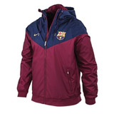 Campera Rompeviento Fútbol Barcelona Nike 2017 L