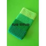 Funda Tejida A Crochet Para Celular. Rayada Y Otros Modelos