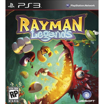 Jogo Midia Fisica Rayman Legends Português Playstation Ps3