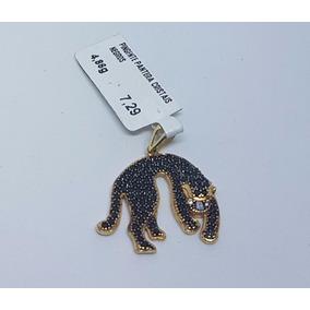 c9498cd74600c Pingente Pantera Em Ouro 750 - Pingentes no Mercado Livre Brasil
