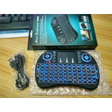 Mini Teclado Inalambrico Iluminado Rgb Usb Smart Tv X Box Pc