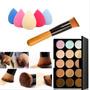 15 Colores Maquillaje Corrector Paleta Contorno Crema