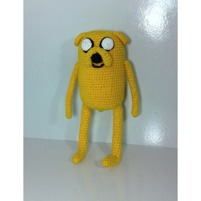 Boneco Do Jake Hora Da Aventura De Croche