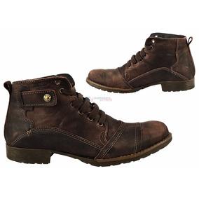 Bota Boots Company Taurus Fossil Couro Marrom
