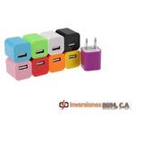 Cargador Taco Universal 1 Amp Telefono Samsung Blue Nokia
