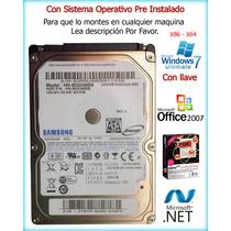 Disco Duro 320gb Sata Con Sistema Operativo Pre-instalado