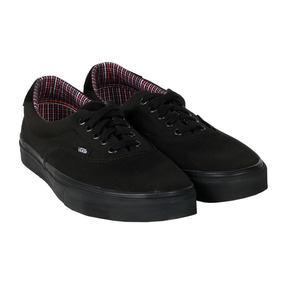 Tênis Vans Era 59 Cord E Plaid Black Feminino.