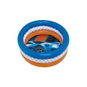Piscina Infantil Inflável Pequena Menino Hot Wheels 8096-0