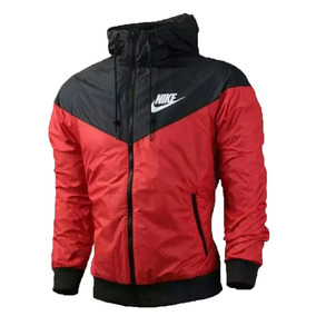 8f49bbedad280 Jaqueta Corta Vento Nike Vermelha Windrunner Pronta Entrega