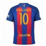 Camiseta Barcelona 10 Ronaldinho Homenaje 2016/17
