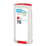 Cartucho De Tinta Hp 70 Red 130 Ml Uso En Impresora Hp Desig