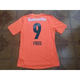 Camisa Seleção Brasileira 21 Fred (fluminense)autografada! - Futebol ... c7e87711f8b65