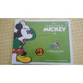 Os Anos De Ouro De Mickey - O Terror Dos Mares - Novo.