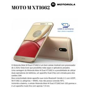 Smartphone Motorola Moto M Xt1662 32gb-4gb De Ram-16 Mpx-4g