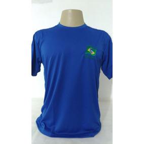 Camiseta Camisa Manga Curta Dry Fit Brasil Lance