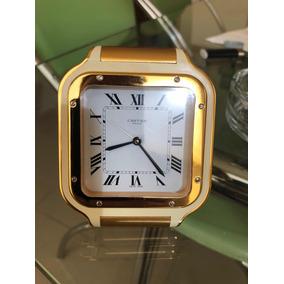 Reloj Cartier Escritorio Excelente Estado 9.5 De Estética