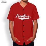 Jerseys De Béisbol Con Estampado Personalizado Colores Lisos
