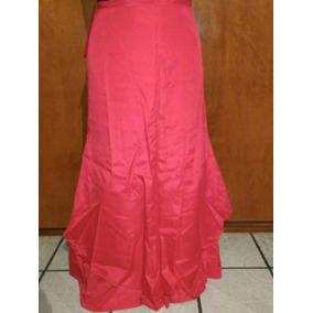 Vestido Rojo De Noche Dama Usado