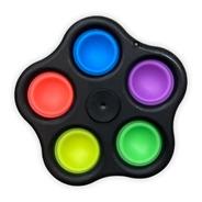 Spinner Pop It Fidget Toy Brinquedo Antistress Bolha