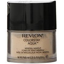 Maquillaje Revlon Colorstay De Aqua Mineral, Claro Medio, 0