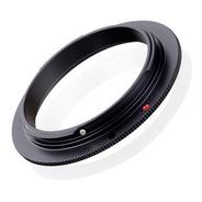 Anillo Inversor Macro 55mm Lente Nikon Afp 18-55 + Curso