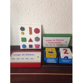 Paquete Sílabas - Figuras Geométricas - Memoramas