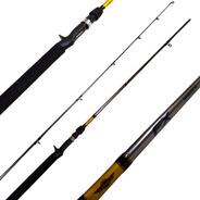 Caña De Pesca Shimano Fx 6.6pies 10-20lbs Bait 2 Tramos
