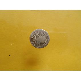 Moneda Antigua 1/2 Real 1861 Pi Escaso Con Envio Rapido Grat
