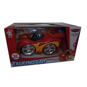 Juguetes Super Carro R/c De Cars 2 Con Grabacion De Voz.