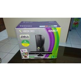 Xbox 360 + 250gb + Kinect +1 Controle Sem Fio