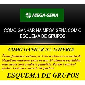 Mega-sena Como Ganhar Na Mega Sena Com O Esquema De Grupos