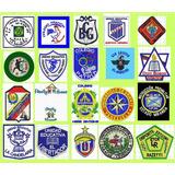 Parches Escudos Bordados Escuela Insignias Gorras Y Playeras