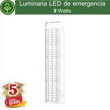 (5 Piezas) Luminaria Led De Emergencia 9w