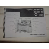 Manual De Peças Do Torno Mecanico Hbx Romi