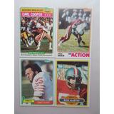 4 Tarj 49ers De Los 80s San Francisco Lote 76