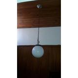 Lámpara Colgante Globo Bocha Vidrio