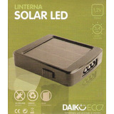 Linterna Solar Led. Daiku Eco.