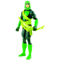 Flecha Verde (green Arrow) Figura De Accion H=30cm Original