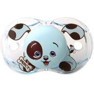Raz Baby Chupete Cierra Solo Perro Nene 0-36 Meses X 1u