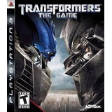 Ps 3 Transformers The Game