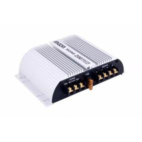 Potencia Amplificador Auto 200 Watts Moon M2060 2 Canales