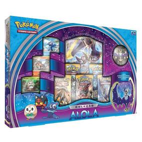 Pokemon Box Coleção Alola Lunala Gx